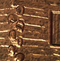 2009 P EC WDDR 038 CDDR 040 LINCOLN CENT DOUBLED DIE