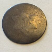1853? SILVER THREE CENT PIECE  TRIME   H922