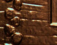 2009 P EC WDDR 008 LINCOLN CENT DOUBLED DIE
