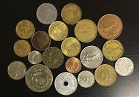 LOT OF 20 DIFFERENT WORLD COINS   C22
