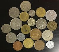 LOT OF 20 DIFFERENT WORLD COINS   C24