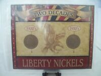 FIRST COMMEMORATIVE MINT: TWO DECADES OF LIBERTY OR V NICKELS 1900S AND 1910S
