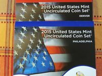 2015 MINT SET IN ORIGINAL MINT PLASTIC 28 UNCIRCULATED US COINS