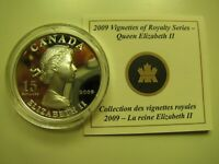 2009 PROOF $15 VIGNETTES 5 ELIZABETH II ULTRA HIGH RELIEF COIN&COA ONLY CANADA