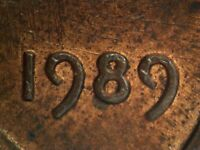 1989 P 1DO 017 LINCOLN CENT DOUBLED DIE