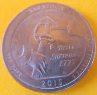 2015 P WASHINGTON SARATOGA ATB NP NATIONAL PARK QUARTER