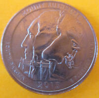 2013 D WASHINGTON MOUNT RUSHMORE ATB NP NATIONAL PARK QUARTER