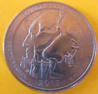 2013 P WASHINGTON MOUNT RUSHMORE ATB NP NATIONAL PARK QUARTER