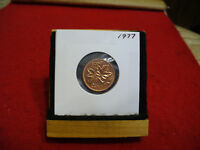 1977  CANADA  1  CENT COIN  PENNY  PROOF LIKE  HIGH  GRADE  SEALED  SEE PHOTOS