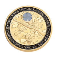 GOLD SOLDIER SNIPER ANONYMOUS MINT BITCOIN COMMEMORATIVE COINS COLLECTION ART