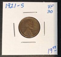 1921-S 1C LINCOLN CENT