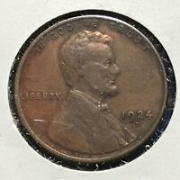1924-D 1C LINCOLN CENT, SEMI-KEY DATE 36736