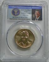 2016-D RONALD REAGAN PRESIDENTIAL DOLLAR COIN PCGS MINT STATE 67 POSITION B