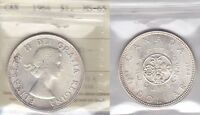1964 ICCS MS65 $1 CANADA SILVER DOLLAR ONE CHARLOTTETOWN QUEBEC