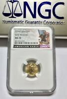 2018 P G$5 NGC MS 70 GOLD AMERICAN EAGLE EARLY RELEASE BALD EAGLE US FLAG LABEL