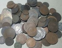 NO.3  1800'S MIXED FORIEGN COINS COLLECTION    OLD ESTATE L