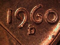 1960 D 1MM 013 WRPM 003 RPM 013 CRPM 006 LINCOLN CENT REPUNCHED MINT MARK