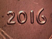 2016 P  WDDO 014 LINCOLN CENT DOUBLED DIE