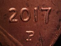2017 P WDDO 005 LINCOLN CENT DOUBLED DIE