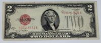 1928 USA $2 RED SEAL BANKNOTE   TWO DOLLAR US BILL COINSOFCANADA