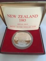 1983 NEW ZEALAND SPECIAL ISSUE DOLLAR | SILVER | PROOF PENNIES2POUNDS