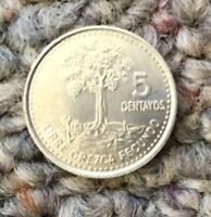 2009 GUATEMALA 5 CENTAVOS COIN; CIRCULATED