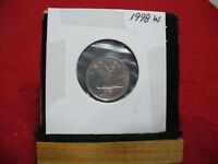 1998W  CANADA  DIME  10 CENTS    TOP GRADE  98  PROOF LIKE  SEALED  SEE PHOTOS