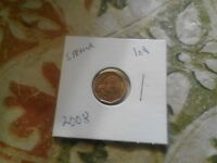 2008 SOUTH AFRICA 10 CENT COIN