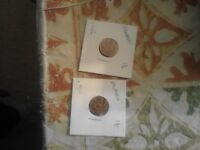 BARBADOS 1 CENT COINS LOT OF 2 1996 AND 2000