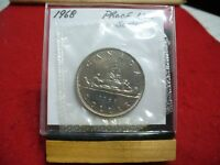 1968  CANADA  NICKEL  DOLLAR  COIN   TOP GRADE   68  PROOF LIKE  SEALED  AUCTION