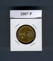 2007  P  MINT  SACAGAWEA  DOLLAR   MS UNCIRCULATED CONDITION FROM US MINT ROLLS