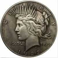 1922 PEACE DOLLAR COIN IN GOD WE TRUST  SHIPS FREE