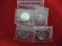 LOT OF 4  1991 92 94 1995   CANADA   DIME   10  CENT PIECE   SEALED  AUCTION