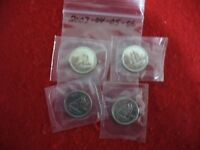 LOT OF 4  2003 04 05 2006   CANADA   DIME   10  CENT PIECE   SEALED  AUCTION