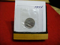 1977 CANADA  DIME  10 CENTS    TOP GRADE  77  PROOF LIKE  SEALED  SEE PHOTOS