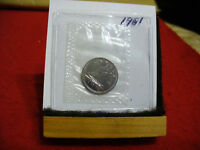 1981 CANADA  DIME  10 CENTS    TOP GRADE  81  PROOF LIKE  SEALED  SEE PHOTOS