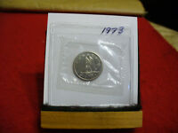 1973 CANADA  DIME  10 CENTS    TOP GRADE  73  PROOF LIKE  SEALED  SEE PHOTOS