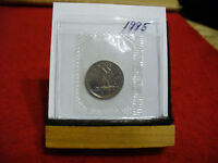 1995 CANADA  DIME  10 CENTS    TOP GRADE  95  PROOF LIKE  SEALED  SEE PHOTOS