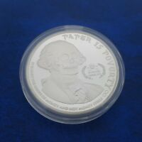COMMEMORATIVE COIN COLLECTION SKULL GHOST WASHINGTON PRESIDENT BADGE MEDAL COINS