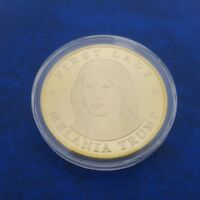 COMMEMORATIVE COIN COLLECTION ORO DORADO MELANIA TRUMP PRESIDENT DONALD TRUMP