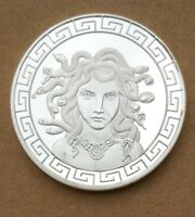 COMMEMORATIVE COIN COLLECTION GREEK MYTHOLOGY MEDUSA SNAKE MYTHOS STORY OWL STAR