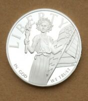 COMMEMORATIVE COIN COLLECTION LIBERTY IN GOD WE TRUST US GODNESS FREEDOM LIBERTY