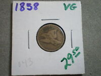 1858 FLYING EAGLE CENT/ GREAT BUY