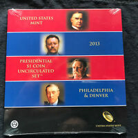 2013 PRESIDENTIAL DOLLAR COIN UNCIRCULATED SET SEALED XE7  SHIPS FREE