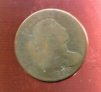 1806 DRAPED BUST COPPER LARGE CENT