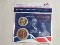 2007 JAMES & DOLLEY MADISON PRESIDENTIAL DOLLAR & FIRST SPOUSE MEDAL SET
