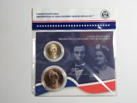 2010 ABRAHAM & MARY TODD LINCOLN PRESIDENTIAL DOLLAR & FIRST SPOUSE MEDAL SET