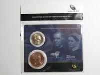 2011 ANDREW & ELIZA JOHNSON PRESIDENTIAL DOLLAR & FIRST SPOUSE MEDAL SET