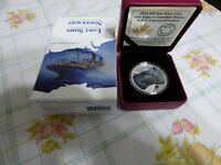 2014  RCM  20$  FINE SILVER  COIN  LOST SHIPS OF CANADA   EMPRESS OF IRELAND