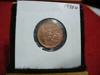 1998 W  CANADA  1 CENT COIN  PENNY  PROOF LIKE  HIGH GRADE  SEALED  SEE PHOTOS